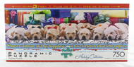Shop now for Christmas Holiday Puppies 750 Piece Jigsaw Puzzle Panoramic