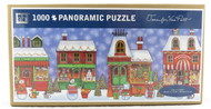 Shop with us now for Jolly Town Christmas Folk Art 1000 Piece Panoramic Jigsaw Puzzle Jennifer Van Pelt