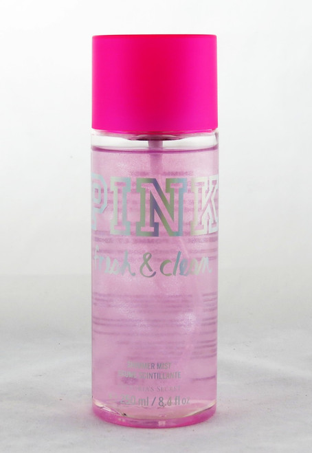 Shop now for Fresh and Clean PINK Shimmer Body Mist Fragrance Spray Victoria's Secret