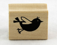 Fly right in to buy this adorable Little Bird Wood Stamp Inkadinkado