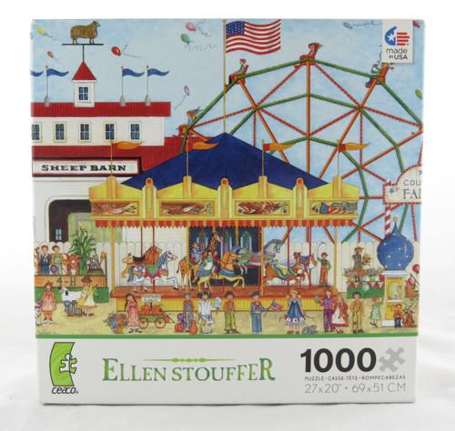 Shop now for County Fair Carousel 1000 piece Jigsaw Puzzle