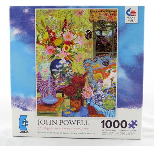 Shop now for Window Nook 1000 Piece Jigsaw Puzzle John Powell