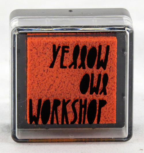 Shop now for Orange Pre-Inked Stamp Pad Yellow Owl Workshop
