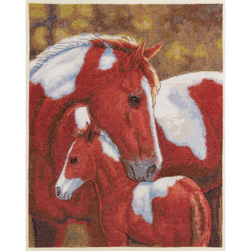 Shop now for Colors of Love Mare Pony Horse Cross Stitch Kit