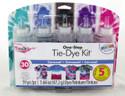 Shop for Tie Dye Fun in Black Blue Teal Fuschia Purple Bright Carousel Colors