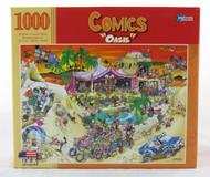 Shop now for Oasis Comics R.J. Crisp 1000 Piece Jigsaw Puzzle