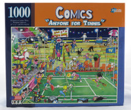 Shop now for Anyone For Tennis Comics 1000 Piece R.J.Crisp Jigsaw Puzzle