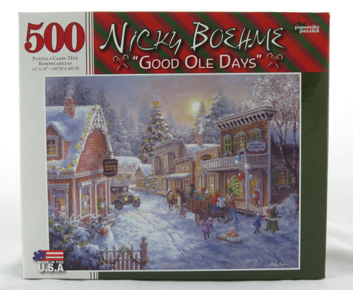 Shop now for Good Ole Days 500 piece Nicky Boehme Jigsaw Puzzle