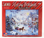 Shop now for Sleigh Ride Nicky Boehme 500 Piece Jigsaw Puzzle