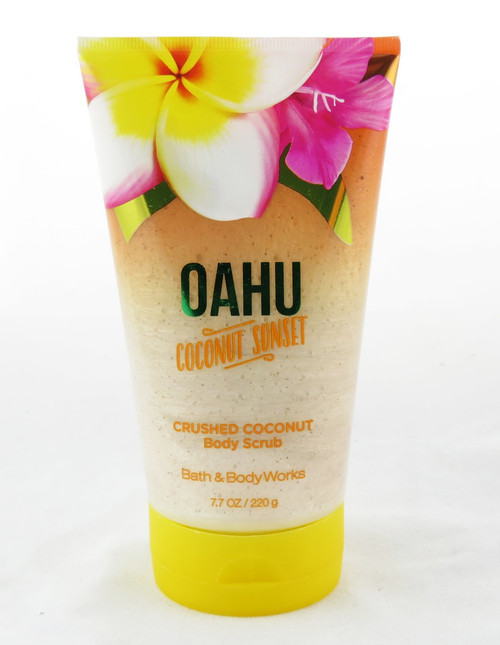 Shop now for Oahu Coconut Sunset Crushed Coconut Shell Body Scrub Bath and Body Works