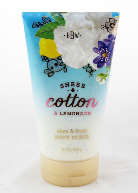 Shop now for Sheer Cotton and Lemonade Shea and Fruit Body Scrub Bath and Body Works