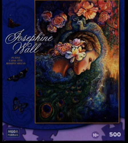 Peacock Daze 500 piece Jigsaw Puzzle by Josephine Wall