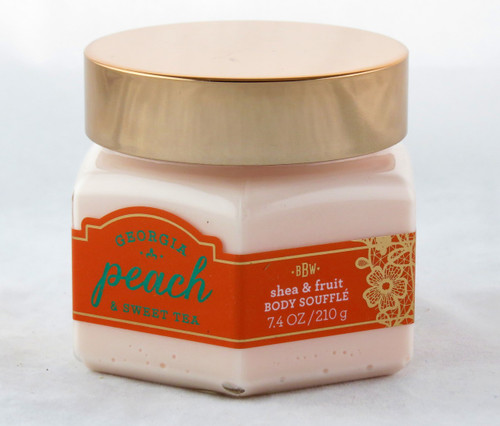 Click here to buy Georgia Peach Sweet Tea Shea and Fruit Body Souffle Bath and Body Works