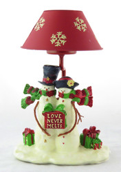 Shop now for Top Hat Snowman Couple Tea Light Holder Yankee Candle