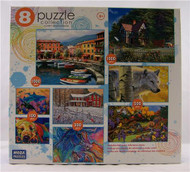 Scenic and Animal Art Jigsaw Puzzle Collection by Mega Brand Puzzles