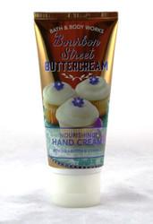 Bourbon Street Buttercream Hand Cream Bath and Body Works 2oz