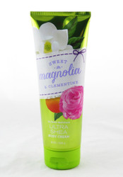 Shop here now for Bath and Body Works Ultra Shea Cream Sweet Magnolia Bloom Clementine