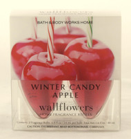 Hurry and buy here Winter Candy Apple Wallflower Fragrance Bulb 2-Pack Bath and Body Works