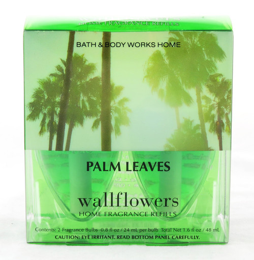 Click here to buy Palm Leaves Wallflower Fragrance Bulb 2-Pack Bath and Body Works