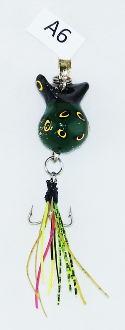 Click here to buy this Handmade Triple Hook Fly Fishing Lure