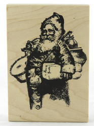 Shop now for this Old World Santa Claus Wood Mounted Rubber Stamp