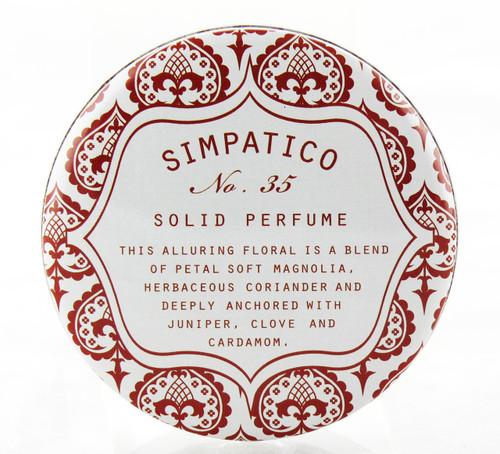 No. 35 Petal Solid Perfume Decorative Tin Simpatico 1oz