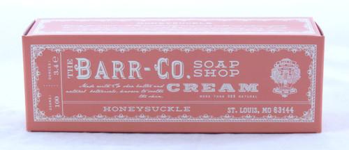 Honeysuckle Shea Butter Hand and Body Cream Barr-Co. Soap Shop 3.4oz
