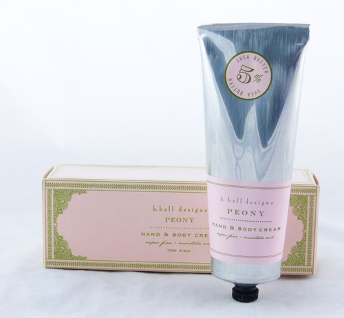 Peony Shea Butter Hand and Body Cream K.Hall Design