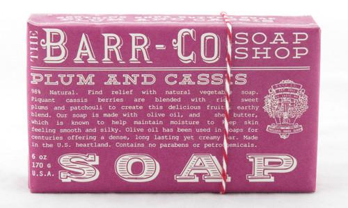 Plum Cassis Bar Soap Barr-Co Soap Shop