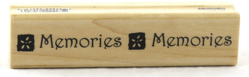 Shop now for Memories Wood Mounted Rubber Stamp Penny Black
