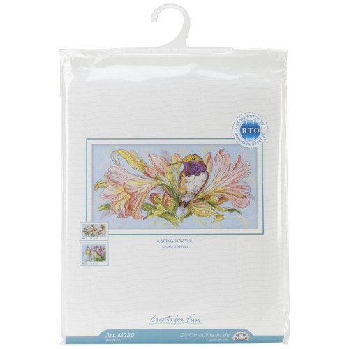 Shop now for A Song For You Hummingbird Counted Cross Stitch Kit RTO