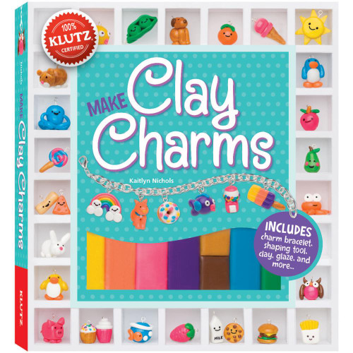 Clay Charms Jewelry Craft Activity Kit Klutz