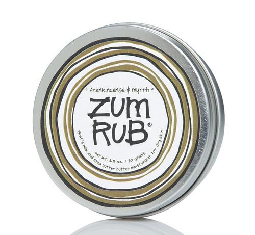 Frankincense Myrrh Zum Body Rub Indigo Wild 2.5oz