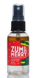 Zum and Be Merry Frankincense Fir Room and Body Mist Indigo Wild 2oz