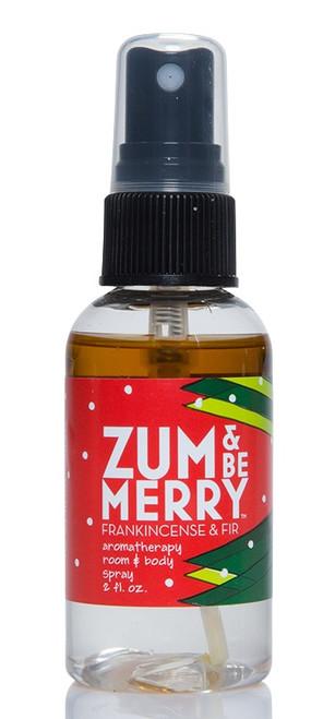 Zum and Be Merry Frankincense Fir Room and Body Mist Indigo Wild 2oz