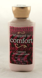 Wrapped in Comfort Cashmere Almond Creme Body Lotion Bath and Body Works 8oz