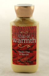 Cup Of Warmth Body Lotion Bath and Body Works 8oz