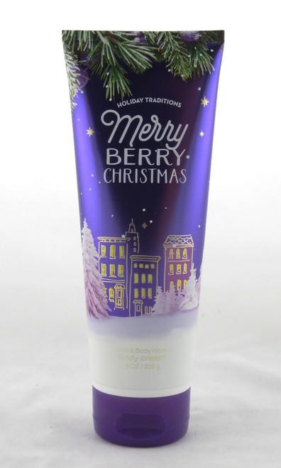 Merry Berry Christmas Ultra Shea Body Cream Bath and Body Works 8oz