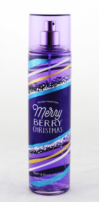 Merry Berry Christmas Fine Fragrance Mist Bath and Body Works 8oz