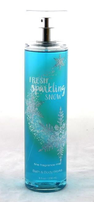 Fresh Sparkling Snow Fine Fragrance Mist Bath and Body Works 8oz