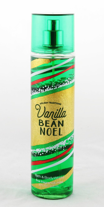 Vanilla Bean Noel Fine Fragrance Mist Bath and Body Works 8oz