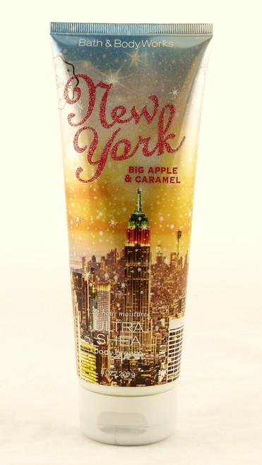 New York Big Apple Caramel Ultra Shea Body Cream Bath and Body Works 8oz