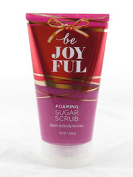 Be Joyful Foaming Sugar Body Scrub Bath and Body Works 8oz