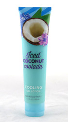 Iced Coconut Coolada Cooling Body Gel Lotion Bath and Body Works 5.6oz