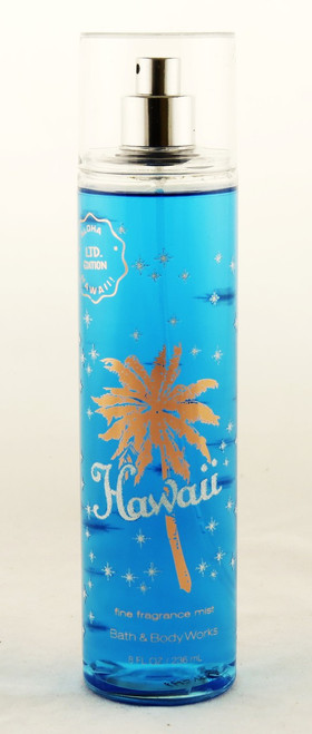 Hawaii Coconut Water Pineapple Fine Fragrance Mist Bath and Body Works 8oz
