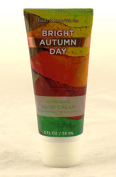 Bright Autumn Day Shea Hand Cream Bath and Body Works 2oz