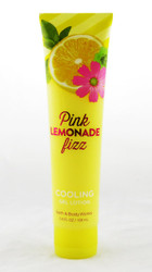 Pink Lemonade Fizz Cooling Body Gel Lotion Bath and Body Works 5.6oz