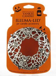 Spider Web Illuma-Lid Jar Candle Topper Yankee Candle