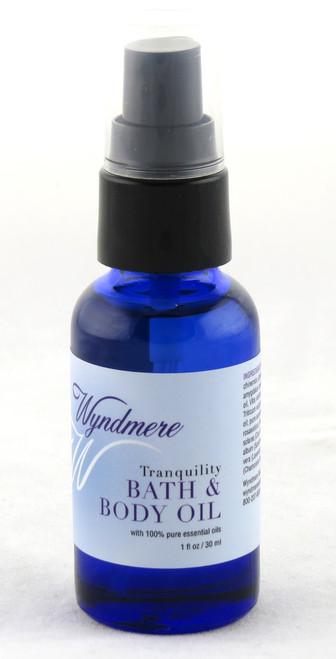 Tranquility Bath & Body Essential Oil Wyndmere Naturals 1oz