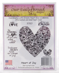 Heart of Joy Cling Stamp Collection Our Daily Bread